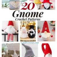 20 Gnome Crochet Patterns