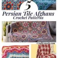 5 Persian Tile Crochet Patterns