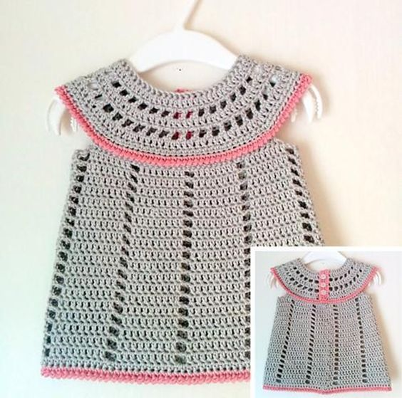 Newborn Dress Free Crochet Pattern Nanas Favorites