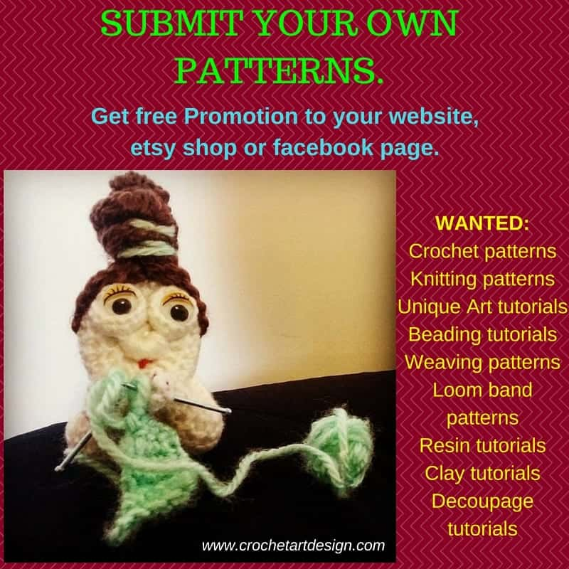 Submit your own Crochet Patterns. (1)