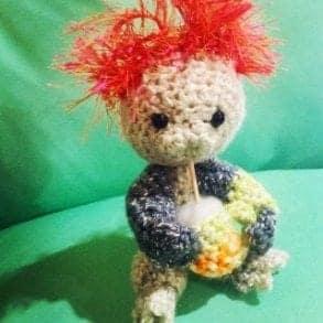Little piggy amigurumi crochet pattern
