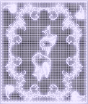 free filet crochet pattern little birds