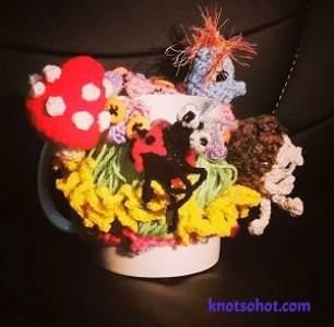 crochet cup cozy amigurumi