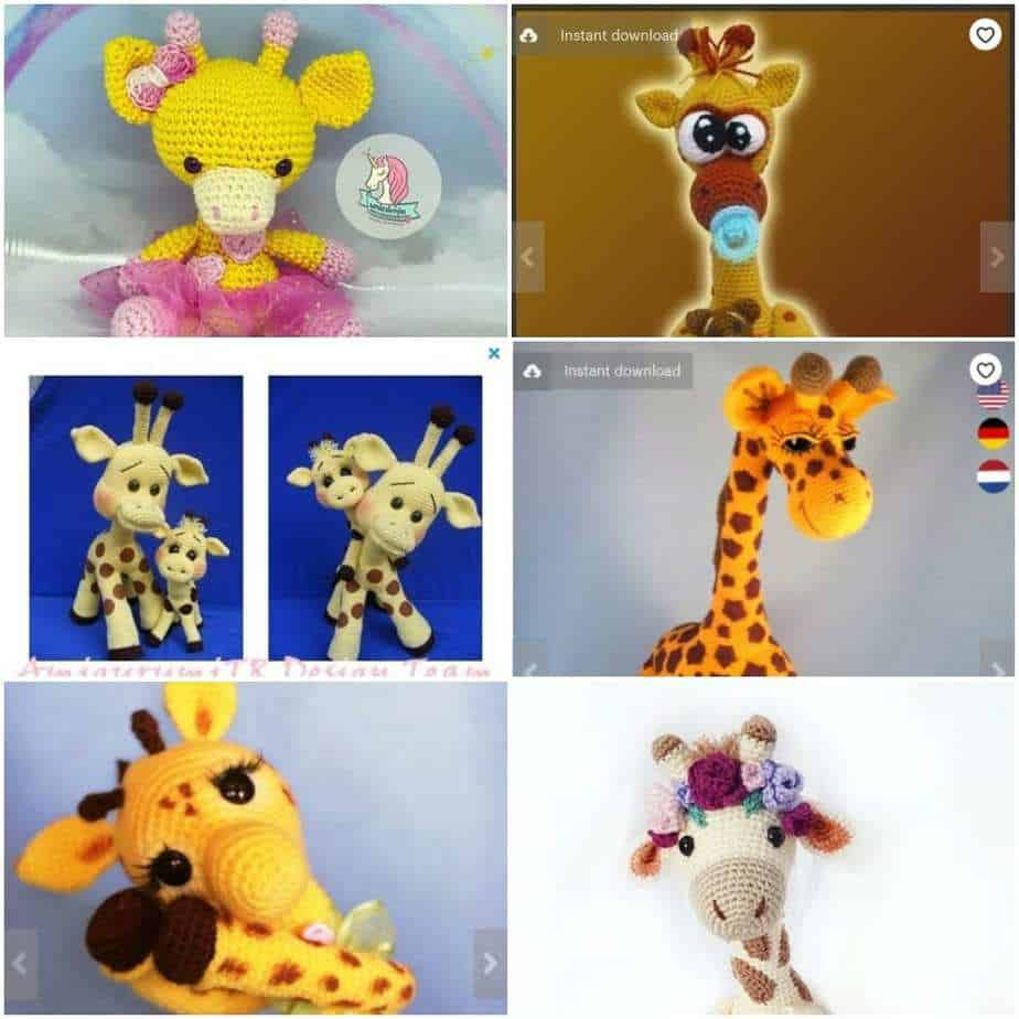 Top 10 Crochet Giraffe Patterns