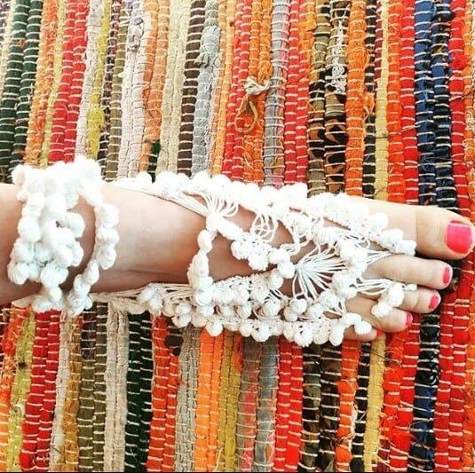 Crochet Beach Sandals