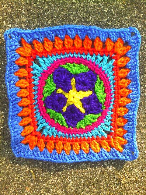 Crochet Square B-3
