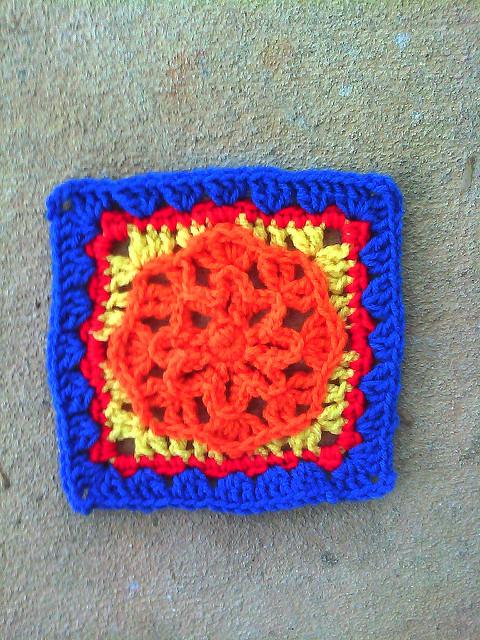 Crochet Square I-2