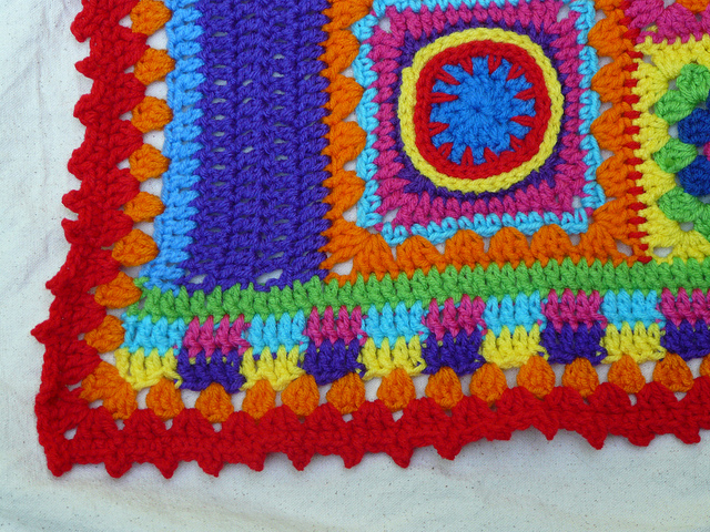 crochet border crochet corner
