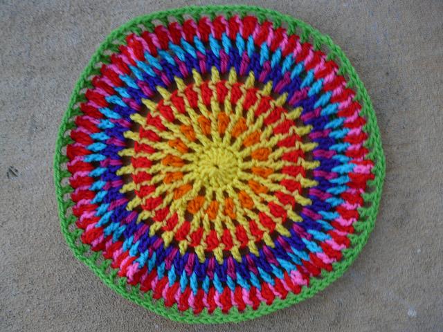 concentric crochet circles