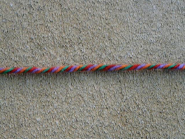 crochetbug, four strand yarn twist, acrylic yarn, crochet, crocheted, crocheiting