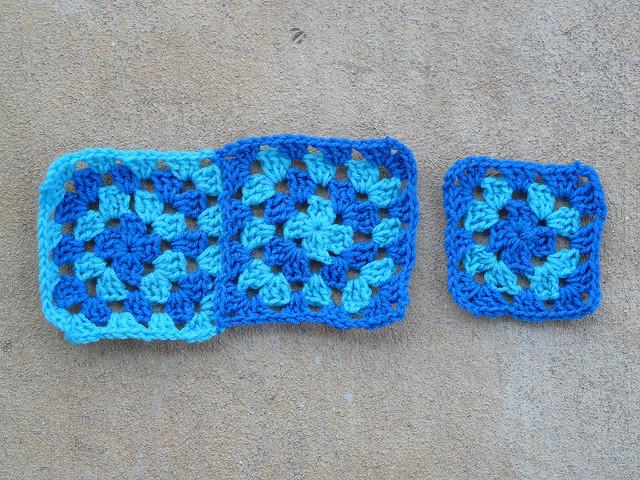 crochet granny squares JAYG