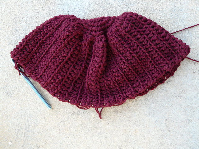 crochet beret crochet hat