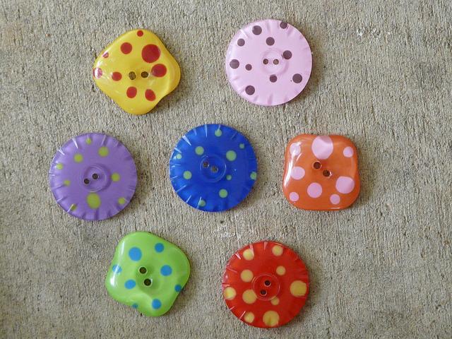 crochetbug, crochet, buttons, hand crafted buttons, fiber fest, resin buttons