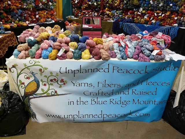 crochetbug, crochet, hand dyed yarn, worsted weight yarn, fingering yarn, unplanned peacock