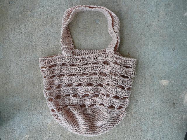 crochetbug, crochet basket, crochet bag, vintage yarn, yarn stash, use what you have, kool-aid dyeing