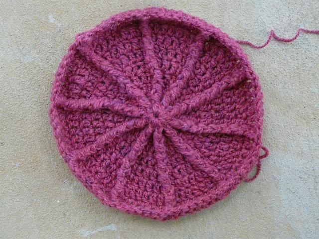 Eileen Tepper Crochet Newsboy Hat