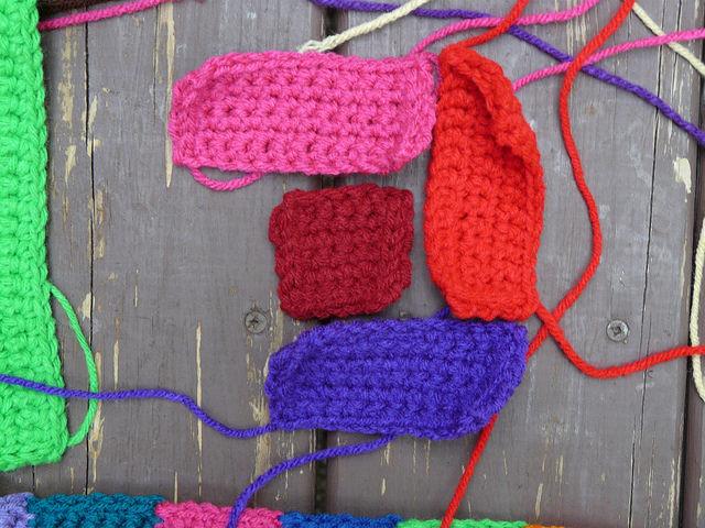 crochet quilt block