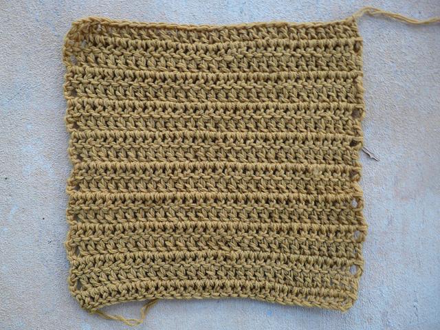 double crochet square