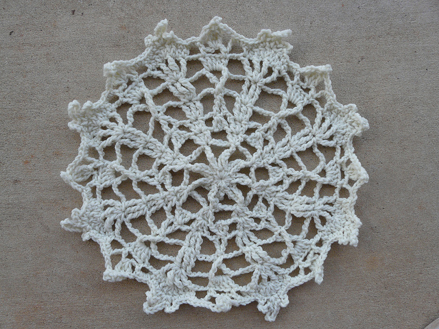 James Walter's beginner's crochet project