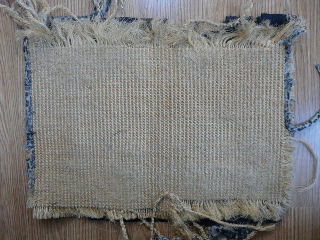cat's scratching mat