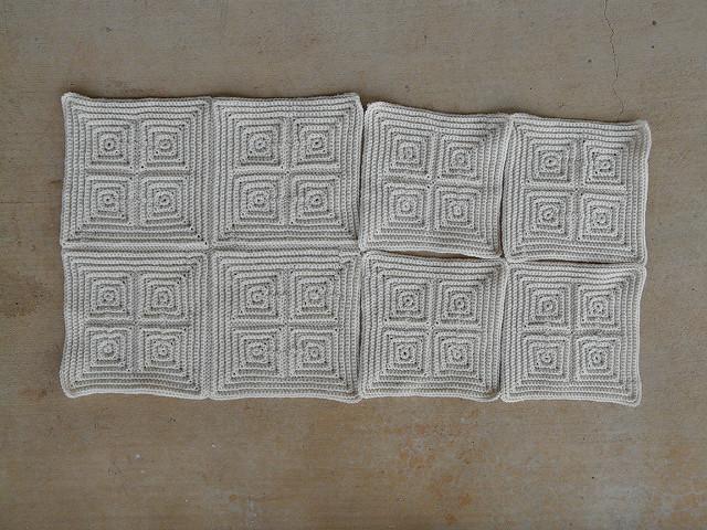 crochetbug, crochet squares, textured crochet squares, textured crochet blanket, textured crochet afghan, textured crochet throw, monochrome