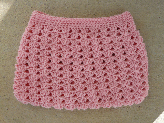The body of my crochet hobo bag to-be