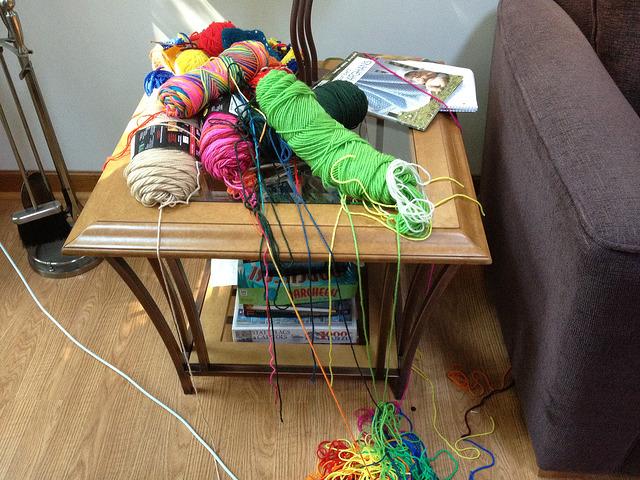 crochetbug, yarn stash, declutter, worsted weight yarn