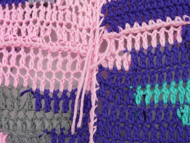detail crochet technique