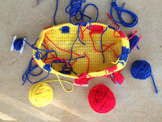 An overview of crocheting with yarn bobbins