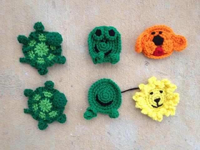 a menagerie of crochet hexagons for a crochet blanket