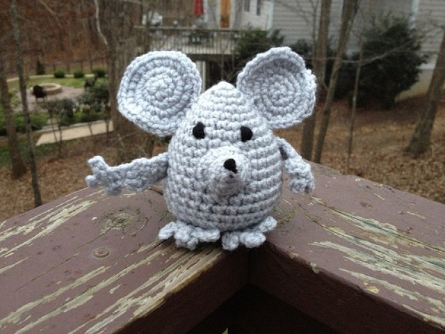 crochetbug, despereaux, crochet mouse, amigurumi mouse