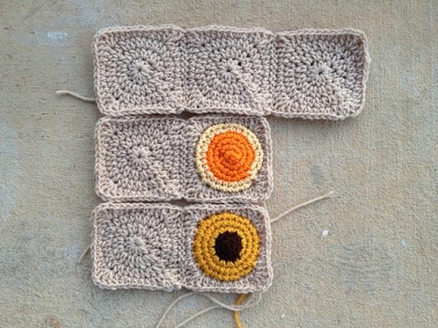 crochet cookie nine-patch