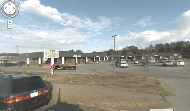 The Google street view of Yarn Expressions