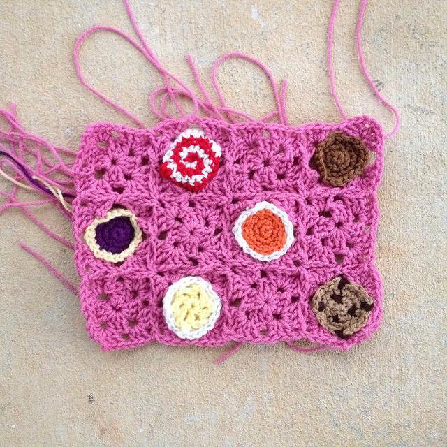 cookie crochet poncho