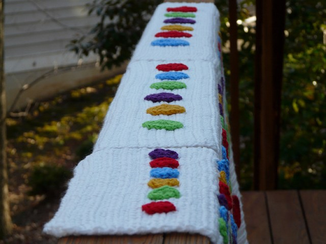 crochet dotted line