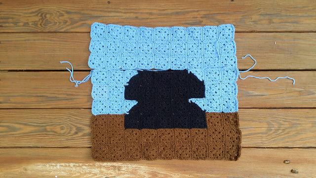 telephone granny square picture, crochetbug, crochet squares, granny squares, crochetbug