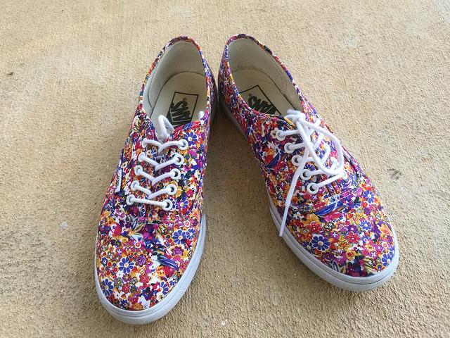 my ditsy floral vans