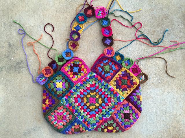 future granny square purse