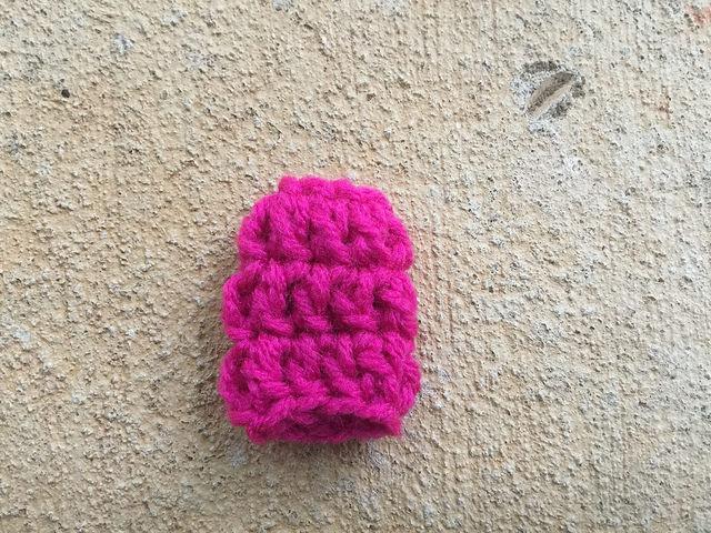 A crochet tension regulator ready for crochet adventures