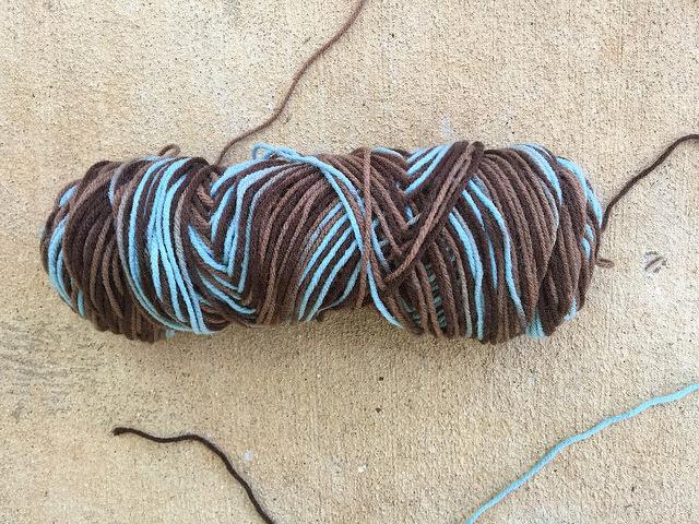 crochetbug, variegated yarn, yarn stash, crochet shelf liner