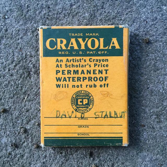 crayola crayons circa 1944