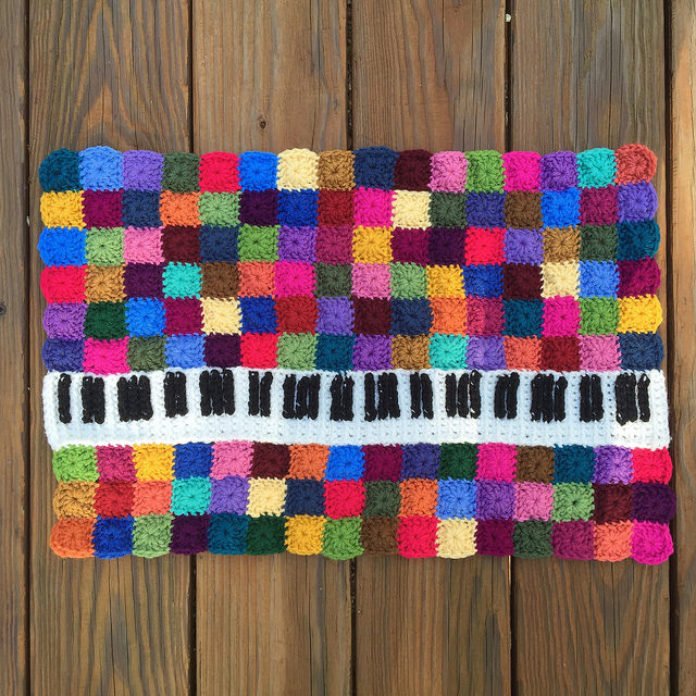 crochet keyboard