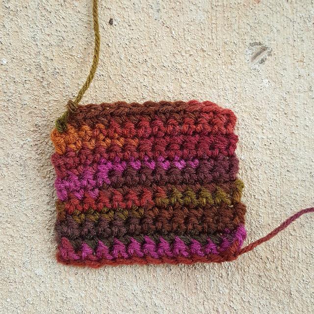 single crochet square