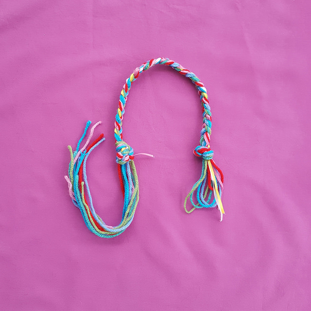 three plait braid