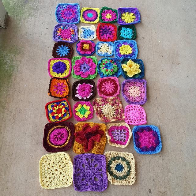 crochetbug, crochet, crochet afghan, crochet squares, 101 crochet squares, jean leinhauser, project amigo, crochet afghan, crochet blanket, crochet throw