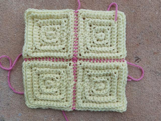 crochetbug, textured crochet squares, textured crochet blanket, textured crochet afghan, textured crochet throw, monochrome