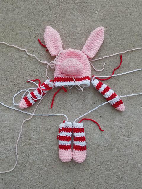 A future Olivia inspired crochet pig