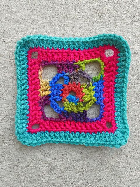 A delightful crochet confection