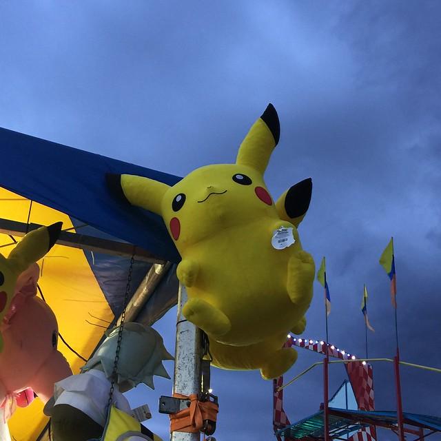 Pikachu at the fair
