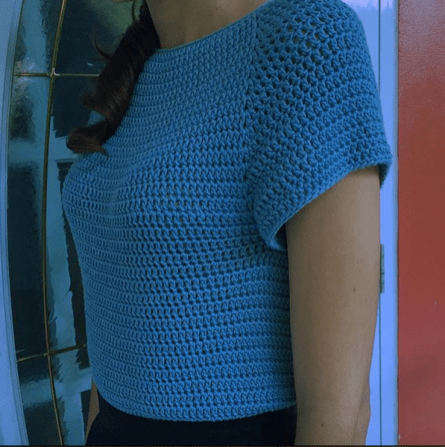 Version 2 of Adult Crochet Sweater